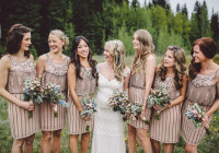 10 Weddings That Prove Mismatched Bridesmaids Dresses Rule