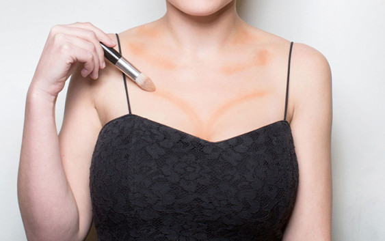 Best Contouring Makeup For Neck and Chest