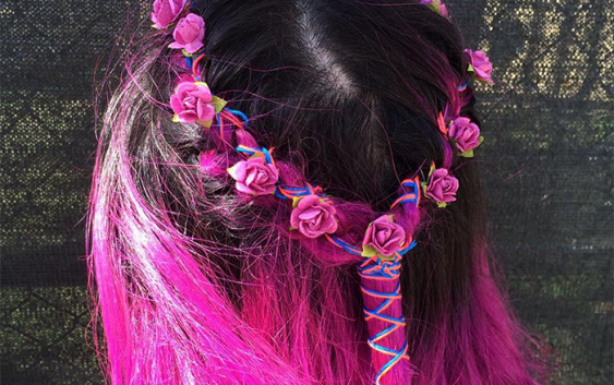 How to Wear a Hair Wrap like a Grown-Up