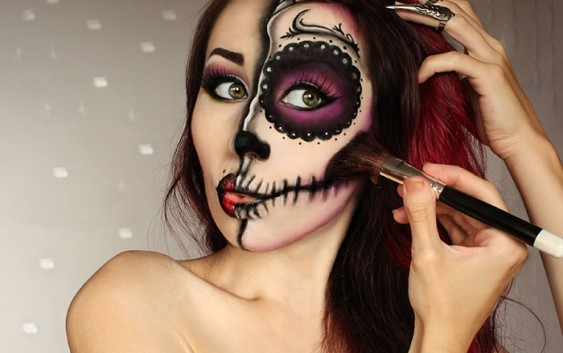 Halloween Makeup Looks For Guys.17 Jaw Dropping Halloween Makeup Looks Vogue Guys