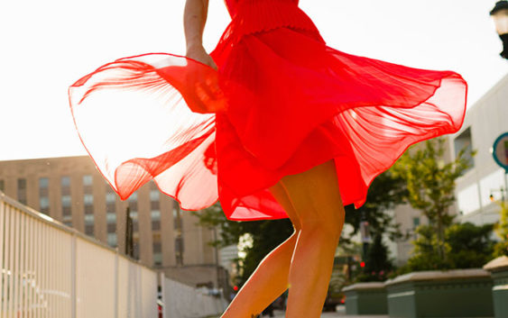 13 Hot Red Dresses to Wear on Valentine's Day