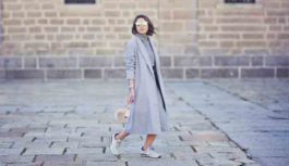 19 Fabulous Outfit Ideas with Grey Sweaters